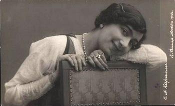 Она была одной из самых популярных московских танцовщиц 1910-х годов