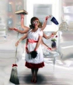 Женщина домохозяйка – хорошо это или плохо? На каких условиях можно стать домохозяйкой и чувствовать себя счастливой? Кто выигрывает от того, что женщина становится домохозяйкой?